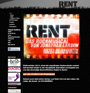 Musical Rent