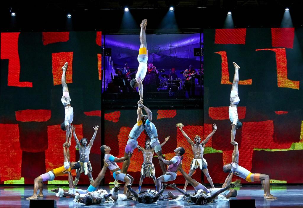 Afrika! Afrika! Bühne 2013